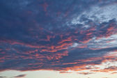 Clouds in the evening sky 14 — Stock Photo