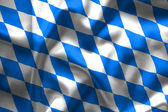 Bavaria flag — Foto de Stock