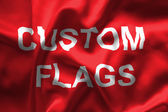 Custom flags — Foto de Stock