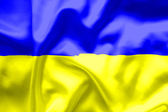 Ukraine flag — Stock fotografie