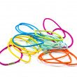 Colorful hair bands . — ストック写真