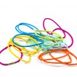Colorful hair bands . — 图库照片