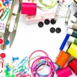 Colorful Garment accessories. — Foto de Stock