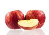 Kırmızı elma. — Stok fotoğraf