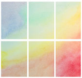 Watercolor hand painted . — Stock Photo