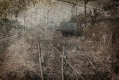 Along disused rail lines photos. — Stock Photo