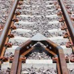 Protective equipment derailment of the train. — Stock Photo #26018665