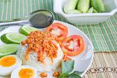 Thai food Thai spicy food. — Stock Photo