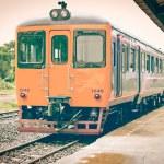 Old vintage train. — Stock Photo