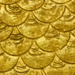 Gold pattern background. — Stock Photo