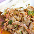 Foto Stock: Spicy pork,Thai food.