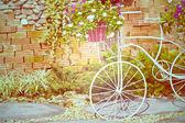 Vintage bicycle — Stockfoto