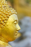 Old gold buddha statue. — Stock Photo