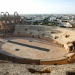 Amphitheater in El Djem — Stock Photo