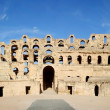 Stock Photo: El Djem Amphitheatre gate
