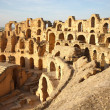 Stock Photo: El Djem Amphitheatre in Tunisia