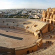 El Djem Amphitheatre panorama — Stock Photo #14131923