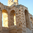 Stock Photo: El Djem, Amphitheatre arches