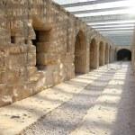El Djem Amphitheatre, underground corridors — Stock Photo