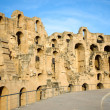 El Djem, Amphitheatre walls — Stock Photo