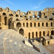 El Djem, Amphitheatre, auditorium — Stock Photo #14132112