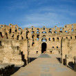 Stock Photo: El Djem, Amphitheatre, Romarena