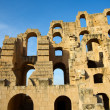 Stock Photo: El Djem Amphitheatre walls