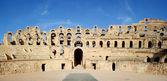 El Djem Amphitheatre gate — Stock Photo
