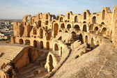 El Djem Amphitheatre in Tunisia — Stock Photo