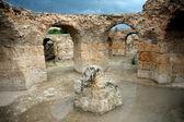 Antonine Baths corridors — Stock Photo