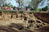 Antonine baths ruins — Stock Photo