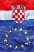Croatian & Eu — Stock Photo