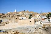Center of Tamezret in Tunisia — Stock Photo