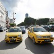 Taxicab on Avenue Habib Bourguiba — Stock Photo #39712141