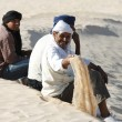 Stock Photo: Nomads in Sahara