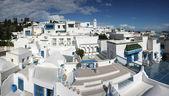 Sidi Bou Said panorama — Stock Photo