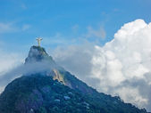 Statue Christ the Redeemer in Rio — Stock Photo