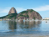 Sugarloaf Mountain in Brasil — Foto de Stock