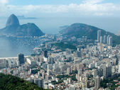 View from Mirante Dona Marta peak — Stock Photo