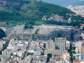 View of Botafogo and Cemiterio Sao Joao Batista — Stock Photo