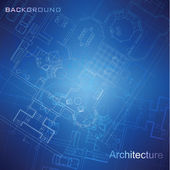 Architectural background (vector) — Vettoriale Stock