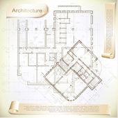 stock illustration architectural background part of