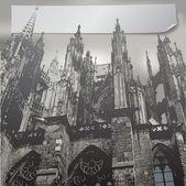 фасад собора кёльна — Cтоковый вектор