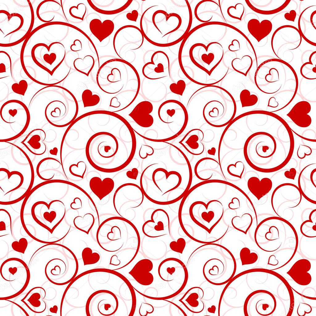 Watercolor Red HeartLove Background Stock Image  Image