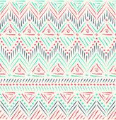 Tribal ethnic seamless pattern — Stock Vector