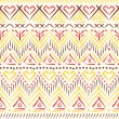 Royalty-Free Stock Vector Image: Tribal ethnic seamless pattern