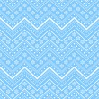 Blue winter christmas seamless background — Imagen vectorial