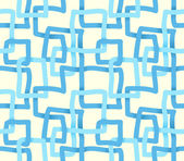 Abstract blue seamless pattern — Stock Vector