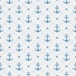 Vintage marine seamless pattern. Paper textured background. Polk — Stock Vector #49270335