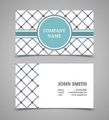 Business card template. Modern retro style. — 图库矢量图片